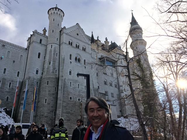 旅の終わりは、あのノイシュバンシュタイン城・・・