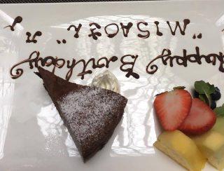 篠崎さんの旦那さんが誕生日だったのでお祝いしました